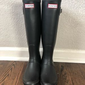 Black Hunter Original Tall Rainboots